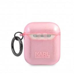GUHCN61PCUGLGPI Guess Glitter Gradient Zadní Kryt pro iPhone 11 Pink (EU Blister)
